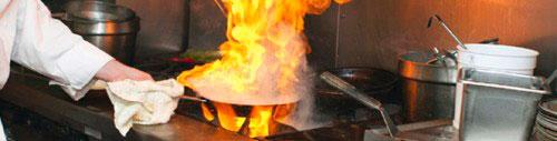 Sistema de Incêndio em Cozinhas