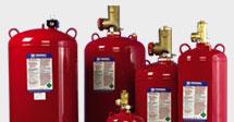 Sistemas de Supressão com Gás
