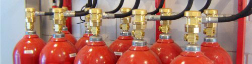 Sistema de CO2 para Incêndio UL/FM