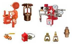 Sistema de Incêndio com Sprinklers UL/FM