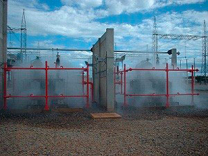 Sistema de Incêndio Water Spray UL/FM